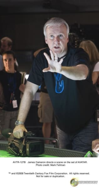 James Cameron Gives Direction