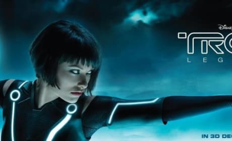 Olivia Wilde Looks Fierce on New Tron Legacy Billboard!