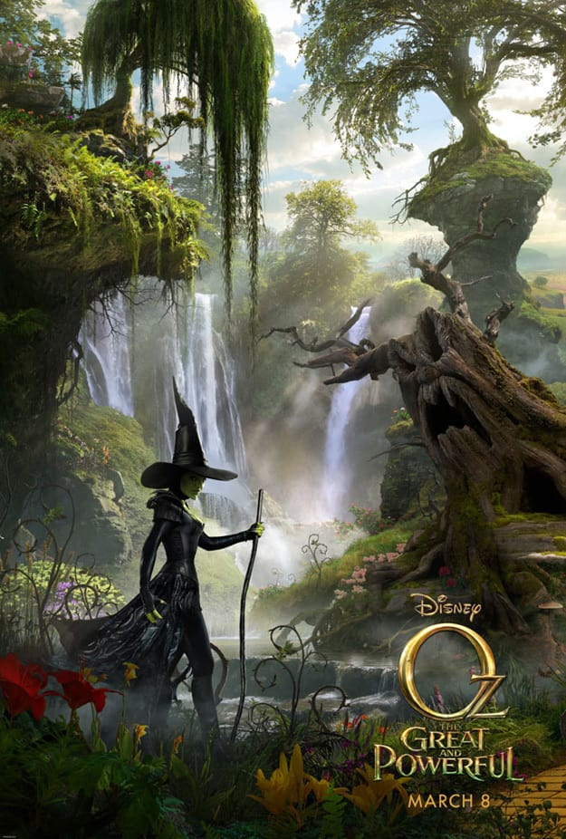 Oz: The Great and Powerful Wicked Witch Artwork