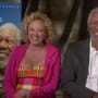 Morgan Freeman and Virginia Madsen Picture