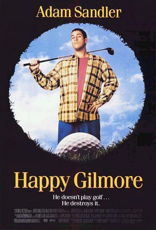Happy Gilmore Movie Poster