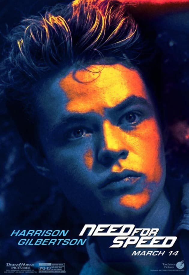Need for Speed Harrison Gilbertson Poster