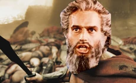 Holy Moses! Fox Breaks Ten Commandments With New Bible Pic