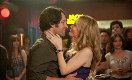 Paul Rudd and Leslie Mann This is 40