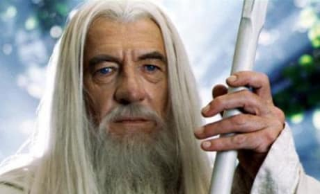 Gandalf Talks Hobbits