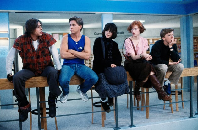 Cast of The Breakfast Club