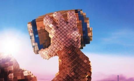 Pixels Donkey Kong Poster
