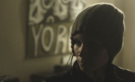 Two New Girl with the Dragon Tattoo Pics: Rooney Mara's Mood