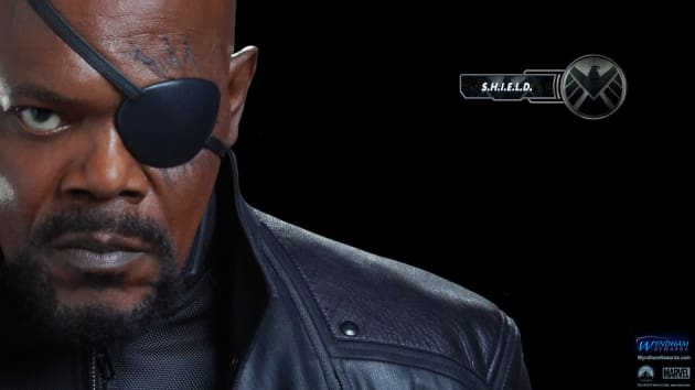 The Avengers Wallpaper: Nick Fury
