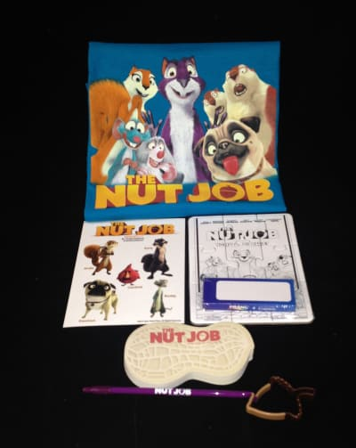 The Nut Job Prize Pack