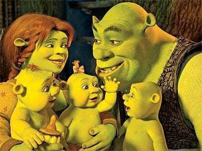 Shrek and Family