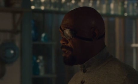 Avengers Age of Ultron Ultron Nick Fury Photo