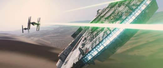 Star Wars: The Force Awakens Millennium Falcon