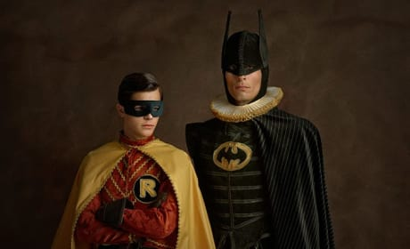 Batman and Robin Go Renaissance