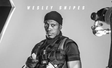 The Expendables 3 Wesley Snipes Poster