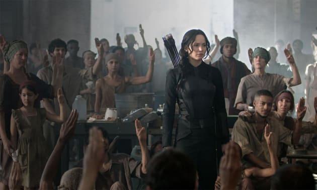 The Hunger Games: Mockingjay Part 1 Jennifer Lawrence