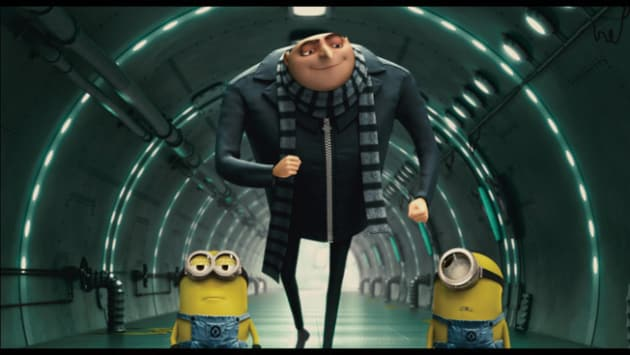 Gru Has a Spring in His Step