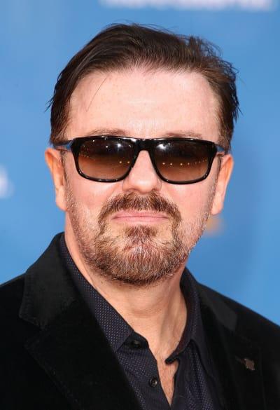 Funnyman Ricky Gervais