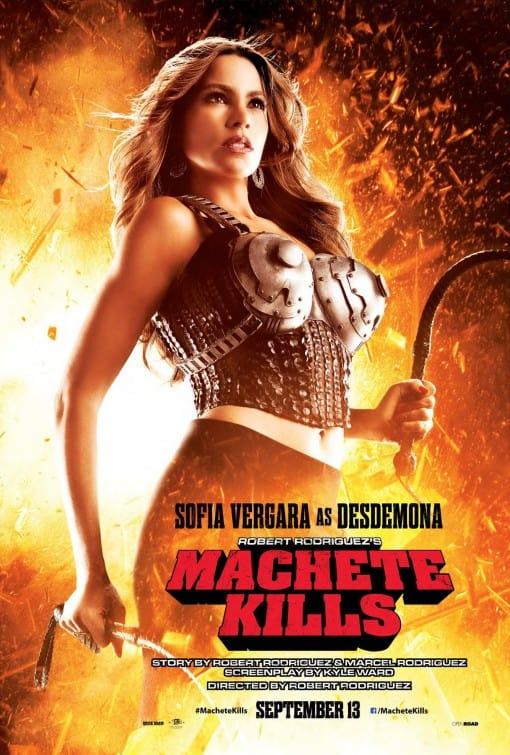 Machete Kills Sofia Vergara Poster