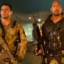 Dwayne Johnson Channing Tatum GI Joe Retaliation