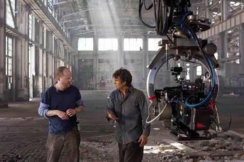 Mark Ruffalo Films The Avengers