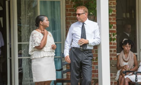 Kevin Costner Octavia Spencer Black or White