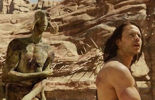 Willem Dafoe and Taylor Kitsch Star in John Carter