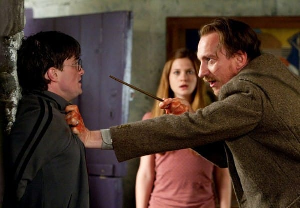 Remus Lupin Gets in Harry's Face
