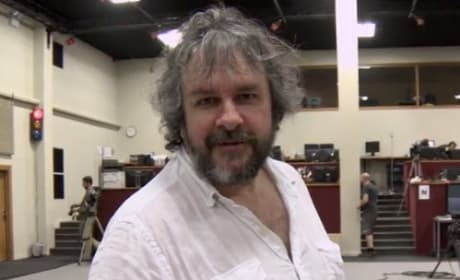 The Hobbit The Desolation of Smaug: Peter Jackson Shares Video Diary