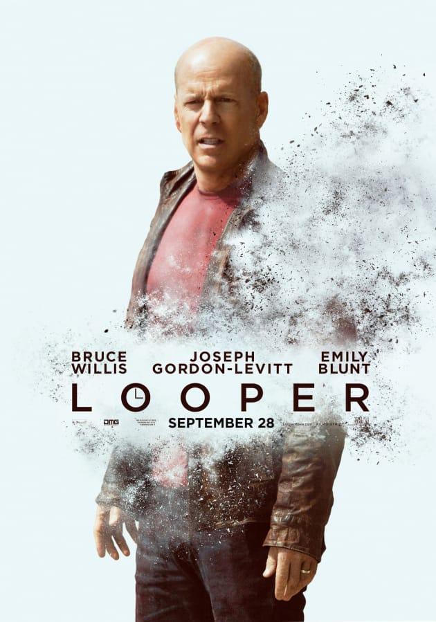 Bruce Willis Looper Poster