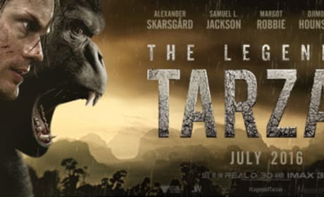 Legend of Tarzan banner