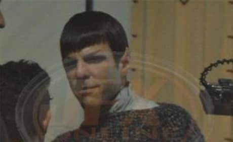 A Look at Zachary Quinto as Spock