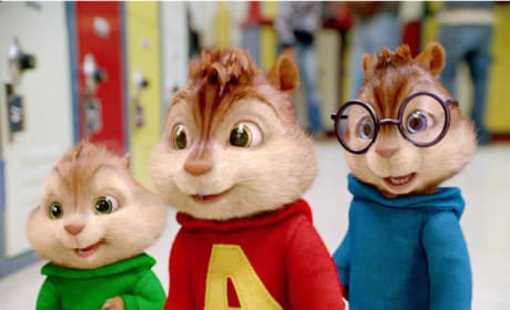 The Chipmunks Go to School