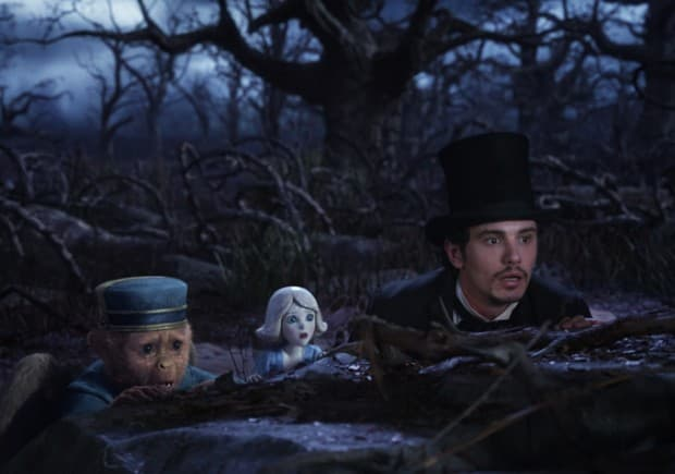 James Franco in Oz: The Great and Powerful