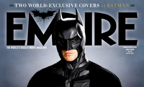 Dark Knight Rises Empire Cover: Batman