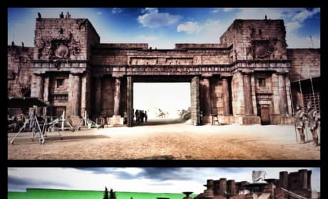 Hercules Set Photo