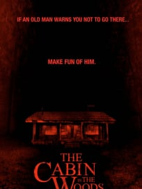 The Cabin in the Woods Old Man Poster