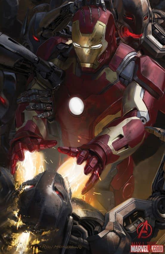 Avengers Age of Ultron Iron Man Concept Art