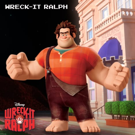 Wreck-It Ralph Character Image