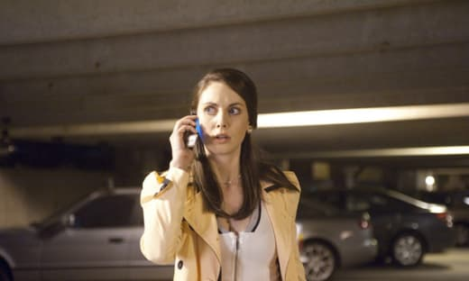 Community's Alison Brie in Scream 4
