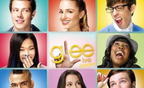 Glee! Live 3D Movie Poster