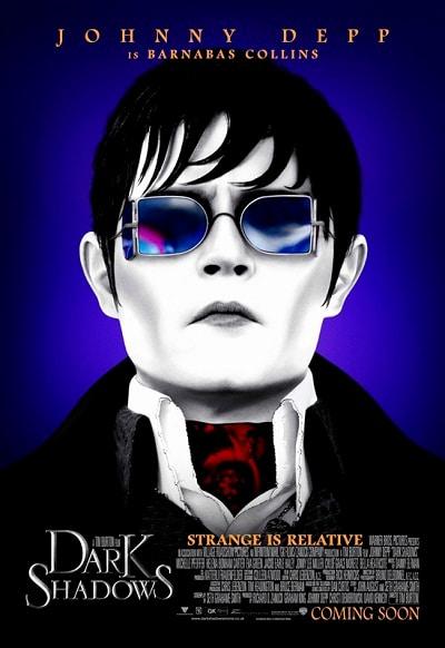 Johnny Depp Dark Shadows Poster