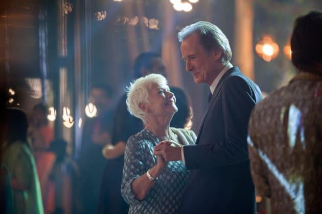 Judi Dench and Bill Nighy Dance the Night Away