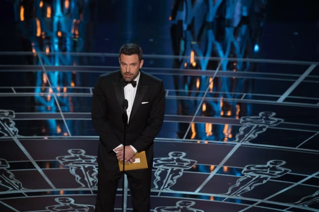 Ben Affleck Oscar Presenter
