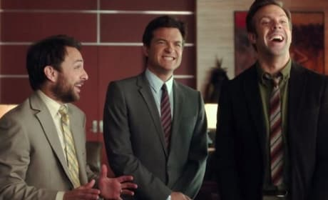 Horrible Bosses 2 Stars Charlie Day Jason Sudeikis Jason Bateman