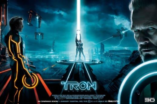 Tron Legacy Tripytch