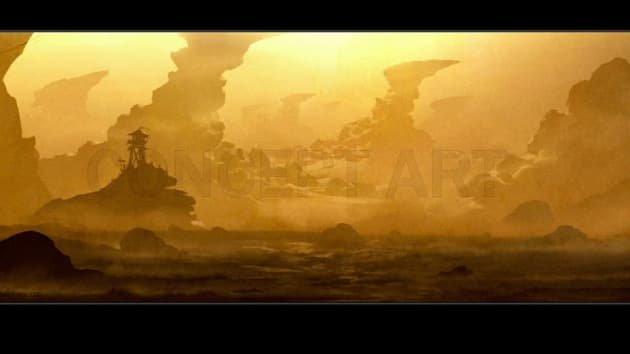 Concept Art for Warcraft