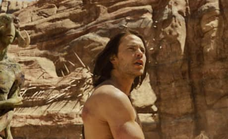 John Carter Blu-Ray: Exclusive Visit with Film's Stars