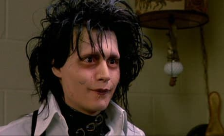 Johnny Depp in Edward Scirssorhands