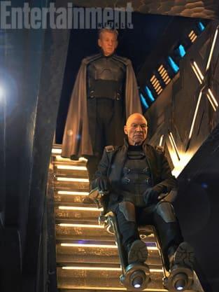 X-Men Days of Future Past Ian McKellen Patrick Stewart
